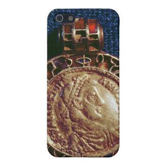 硬貨の形の金ゴールドのペンダント iPhone 5 COVER