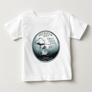 硬貨-イメージ ベビーTシャツ