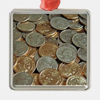 硬貨 メタルオーナメント