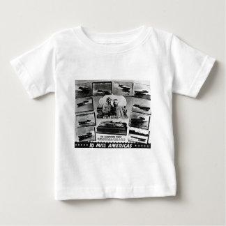 硬鱗魚類ガーパイク属木および10隻の失敗アメリカの競争のボート ベビーTシャツ