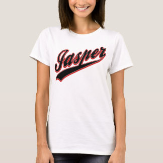 碧玉の野球のロゴ Tシャツ