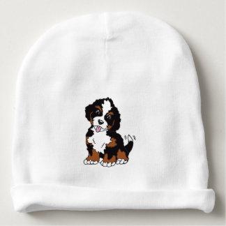 碧玉子犬の赤ん坊の綿の帽子 ベビービーニー