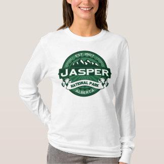 碧玉NPの深緑色 Tシャツ