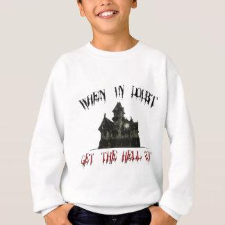 確かでない時は、地獄を出して下さい! スウェットシャツ
