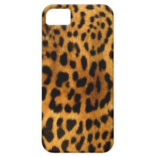 確実なヒョウの毛皮の質 iPhone SE/5/5s ケース