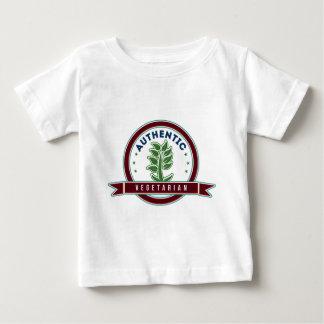 確実なベジタリアン ベビーTシャツ