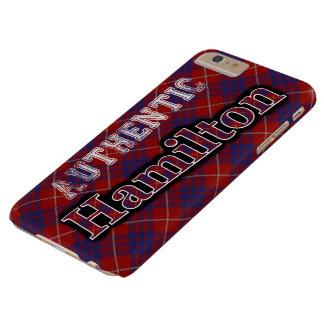 確実な一族のハミルトンスコットランドのタータンチェックのデザイン BARELY THERE iPhone 6 PLUS ケース