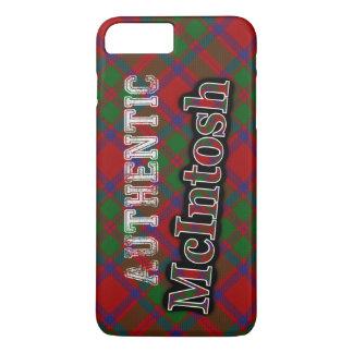 確実な一族のMcIntoshのスコットランドのタータンチェックのデザイン iPhone 8 Plus/7 Plusケース