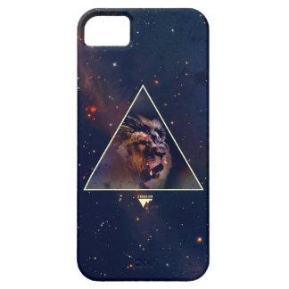 確実な銀河系の三角形のライオンヘッドTrendium iPhone SE/5/5s ケース