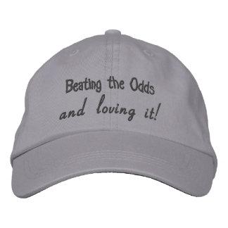 確率およびそれを愛することを打ちます! 調節可能な帽子 刺繍入りキャップ