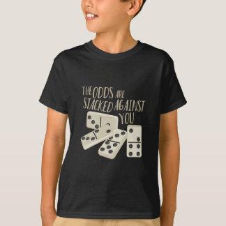 確率は積み重なります Tシャツ