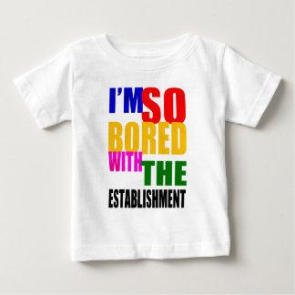 確立と退屈するイギリスの選挙2015年- ベビーTシャツ