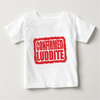 確認されたラダイト ベビーTシャツ