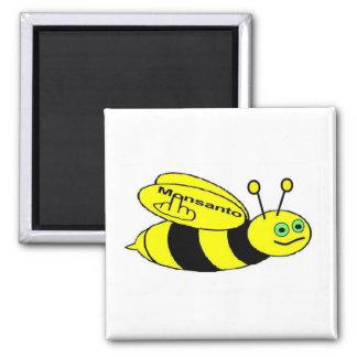 磁石のMonsantoの蜂フリップ マグネット