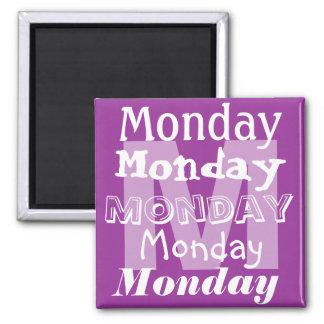 磁石月曜日ビジネス曜日 マグネット