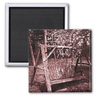 磁石-国の木の振動-ブラウン マグネット