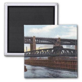 磁石- Gatesheadの旋回橋 マグネット