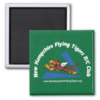 磁石、NHフライング・タイガースのロゴの暗色、 マグネット