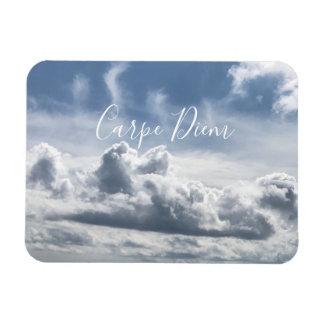 磁石Carpe Diemの雲の美しい写真 マグネット