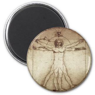 磁石Vitruvianの人 マグネット