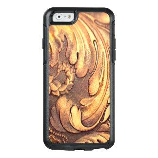 磨かれるAcanthusの葉の木工業木切り分けること オッターボックスiPhone 6/6sケース