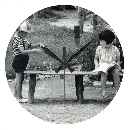 磯野靖子 きみのじかん展 Firenze ラージ壁時計