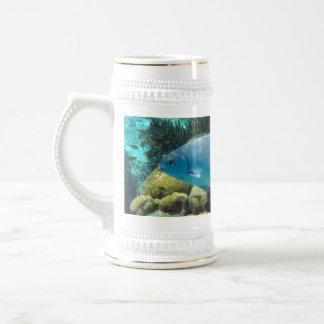 礁の魚 ビールジョッキ