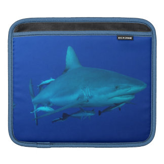 礁の鮫のiPadの場合 iPadスリーブ