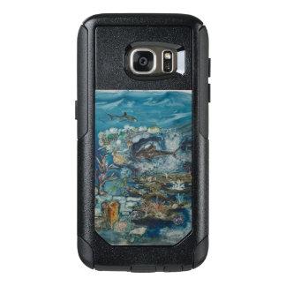 礁のSamsungの銀河系S7の通勤者シリーズ場合 オッターボックスSamsung Galaxy S7ケース