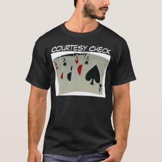 礼儀の点検 Tシャツ