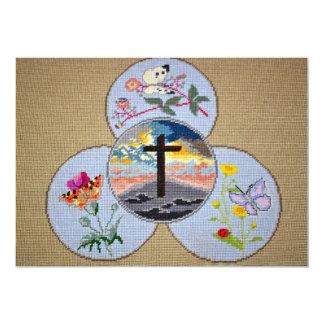 礼拝用敷物の招待状 カード