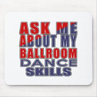 社交ダンスについて私に尋ねて下さい マウスパッド