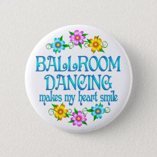 社交ダンスのスマイル 5.7CM 丸型バッジ