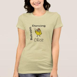 社交ダンスの《鳥》アメリカゴガラ! -有名人のダンスのスタジオ Tシャツ