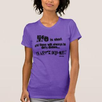 社交ダンス、バレエのタップジャズモダンのためのTシャツを踊って下さい Tシャツ