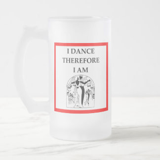 社交ダンス フロストグラスビールジョッキ