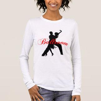 社交ダンス 長袖Tシャツ