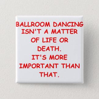 社交ダンス 5.1CM 正方形バッジ