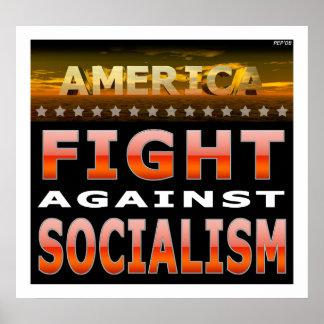 社会主義に対する戦い ポスター
