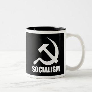 社会主義のコーヒー・マグ ツートーンマグカップ
