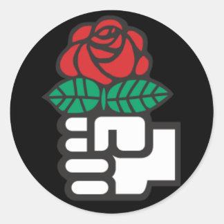 社会主義インターナショナルのステッカー ラウンドシール