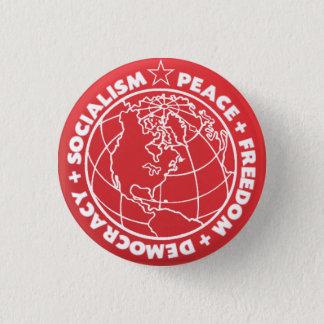 社会主義ボタン 3.2CM 丸型バッジ