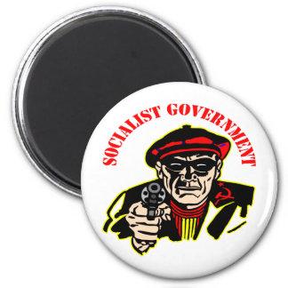 社会主義政府=悪臭を放つ盗人 マグネット