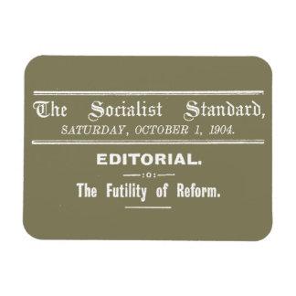 社会主義標準の10月の1904日編集ベージュ色 マグネット