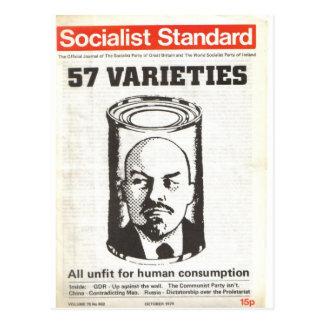 社会主義標準的な1979年10月 ポストカード