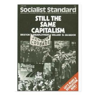 社会主義標準的な1981年6月 ポストカード