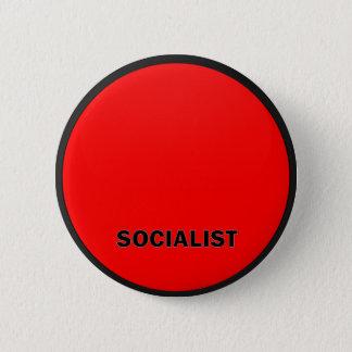 社会主義Roundelの質の旗 5.7cm 丸型バッジ