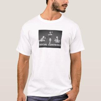 社会制御 Tシャツ