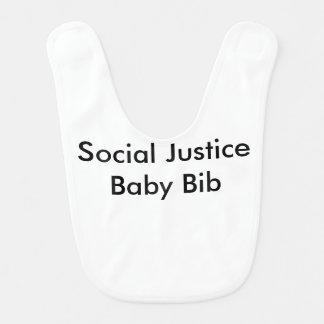 社会正義のベビー用ビブ ベビービブ