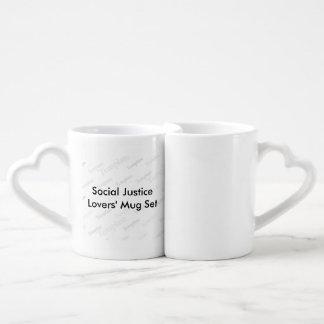 社会正義の恋人のマグセット ペアカップ